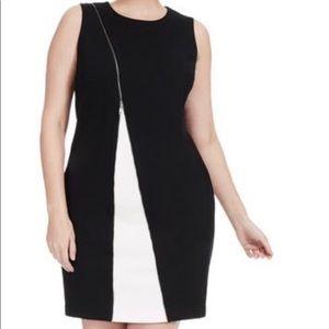 Alfani Dresses - Alfani zippered Black sheath Dress